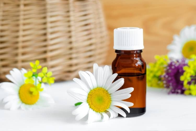 essential oils that are safe for the face chamomile
