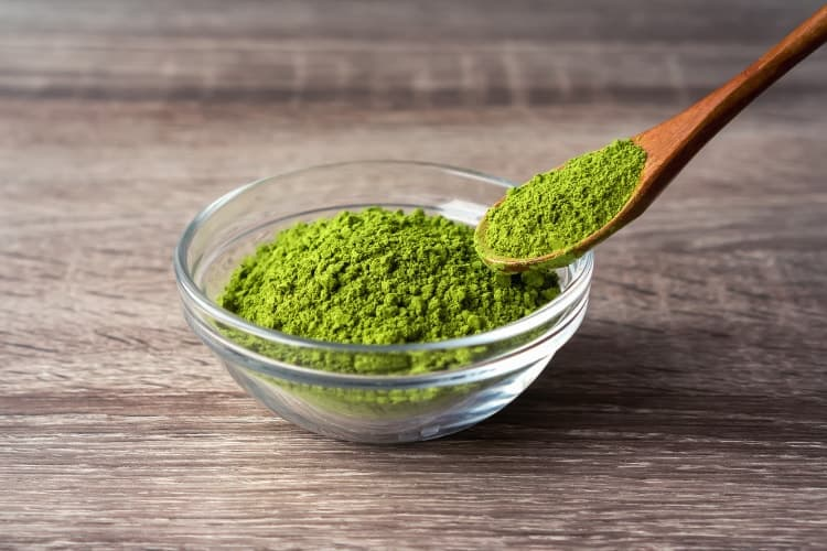 acne fighting smoothie ingredients green tea matcha