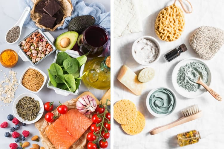 diet and lifestyle tips to lower inflammation and clear up your skin