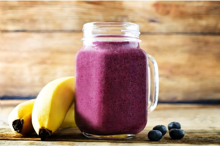 do smoothies help with acne