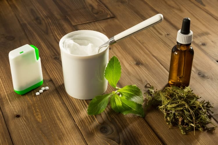 green leaf stevia vs stevia sweeteners for acne