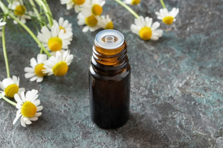is chamomile oil good for acne