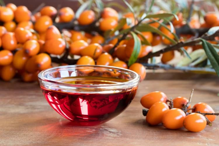 ingredients that are good for dry skin - sea buckthorn