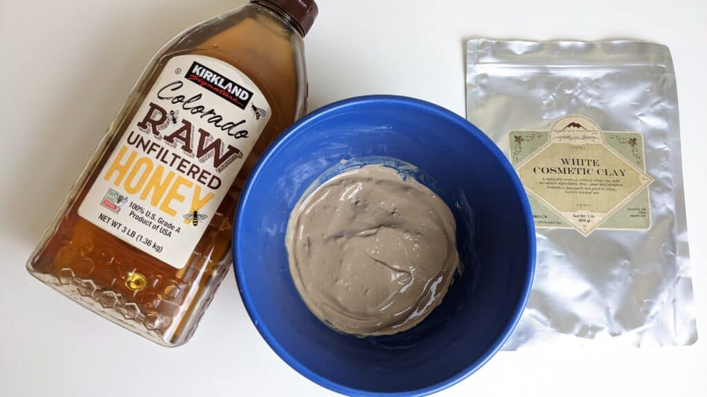 how to make honey and clay masks for your skincare routine
