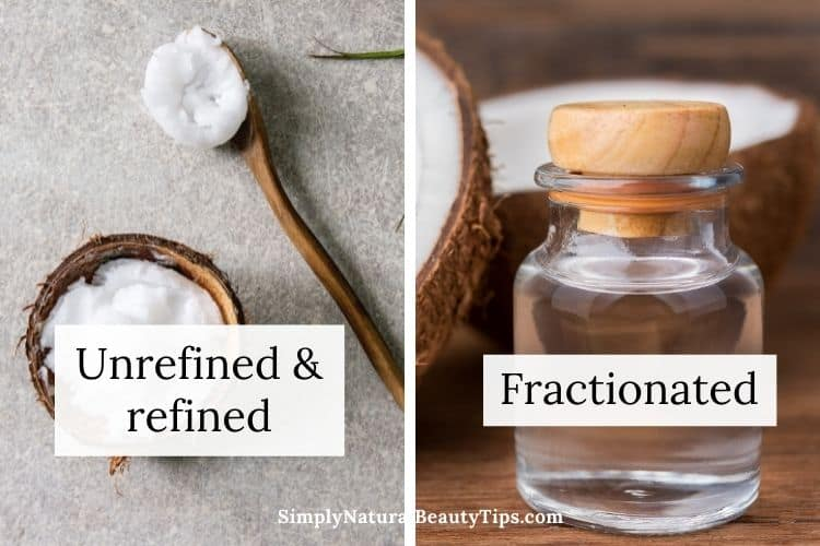 what kind of coconut oil is best as a carrier oil